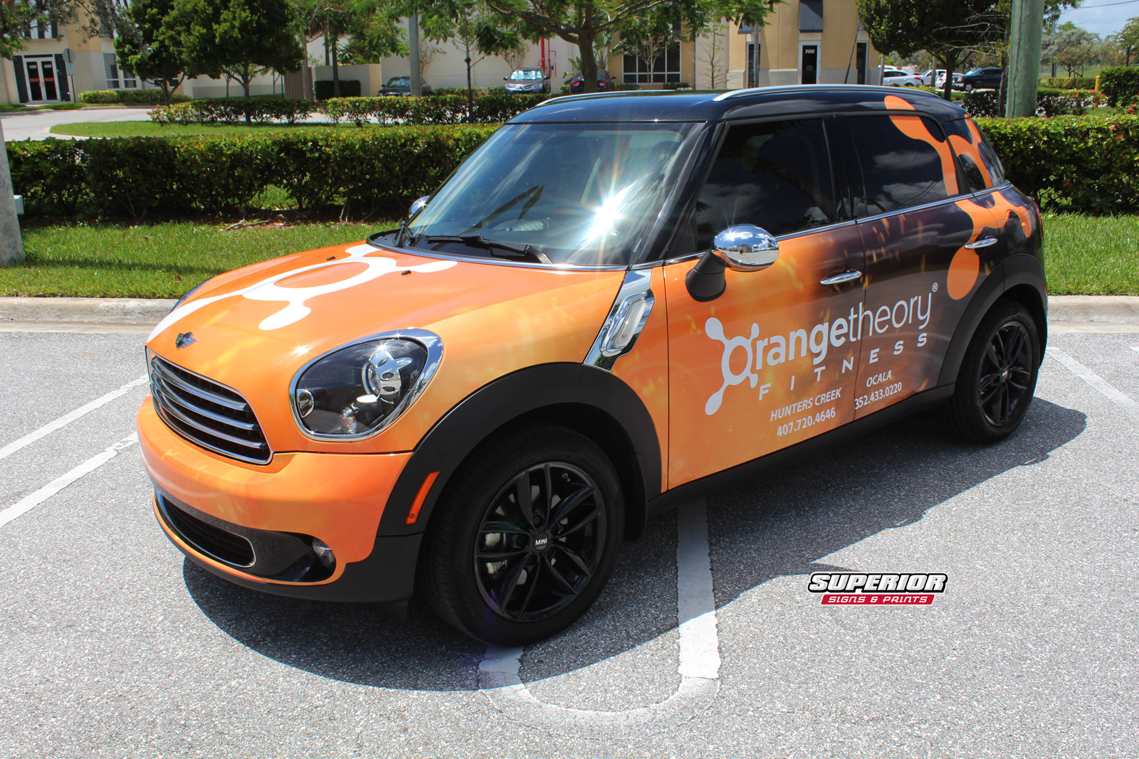 Orangetheory Fitness Franchise Owner Mini Cooper