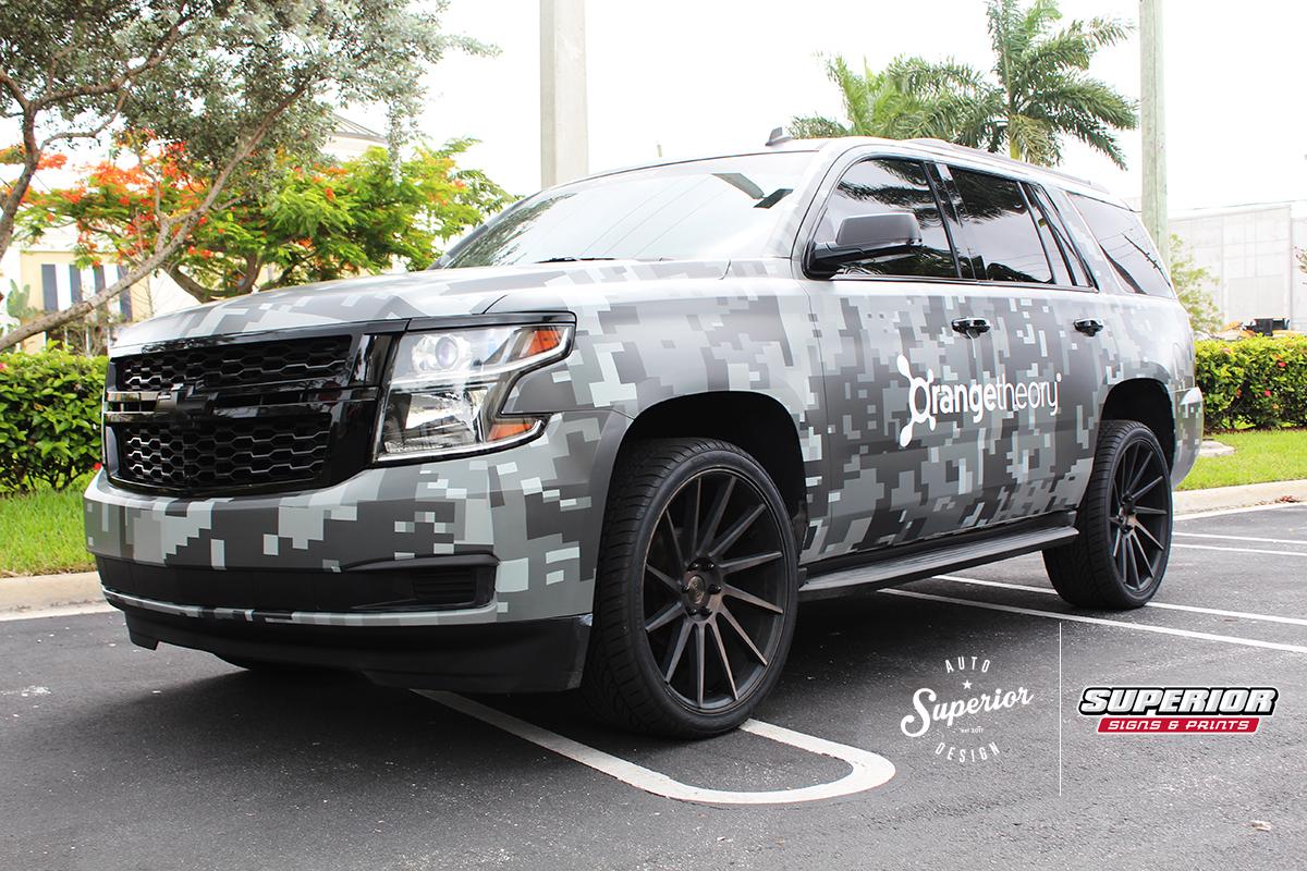 South Florida Car Wrap and Branding Orangetheory Fitness 6